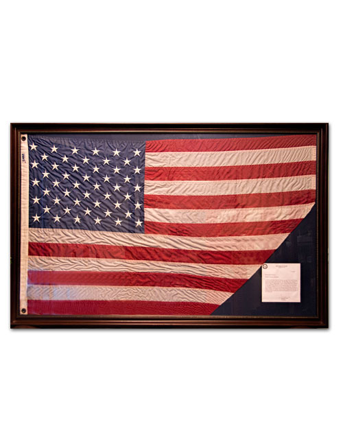 49e4ad021717 ... Framed American Flag. FFFproductShot framedFlag